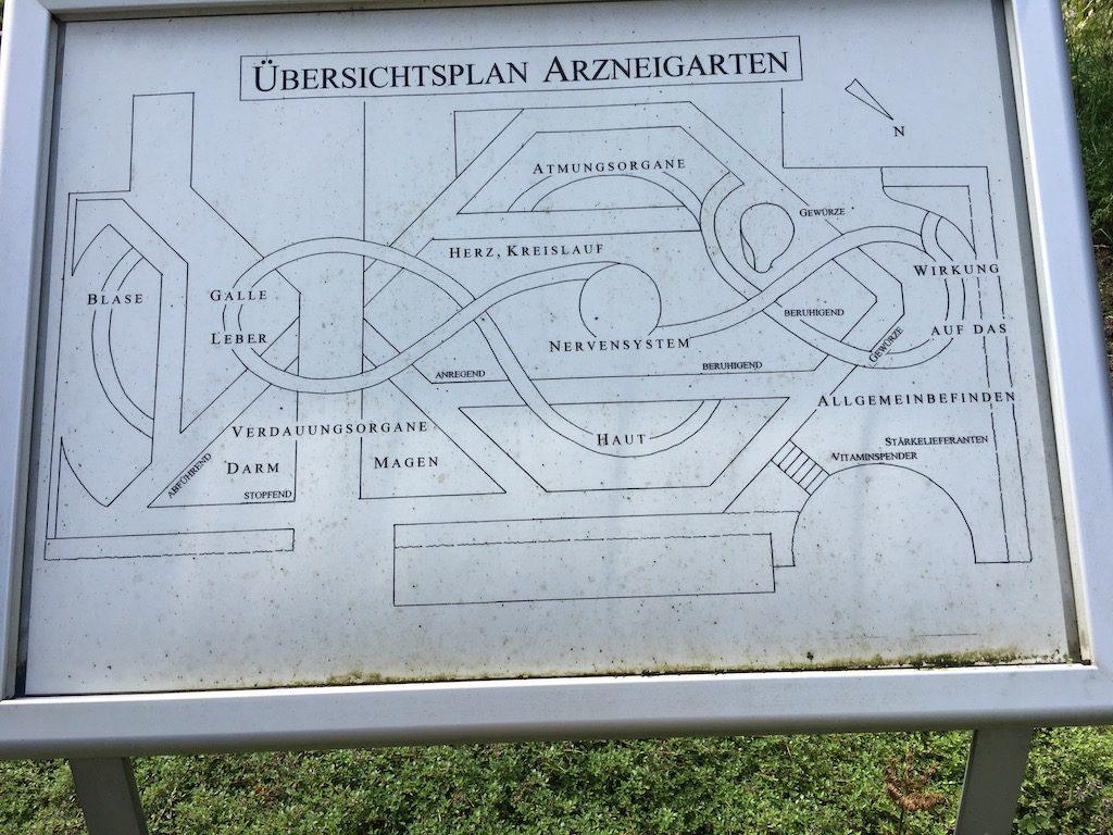 Arzneigarten im Kieler Botanischen Garten