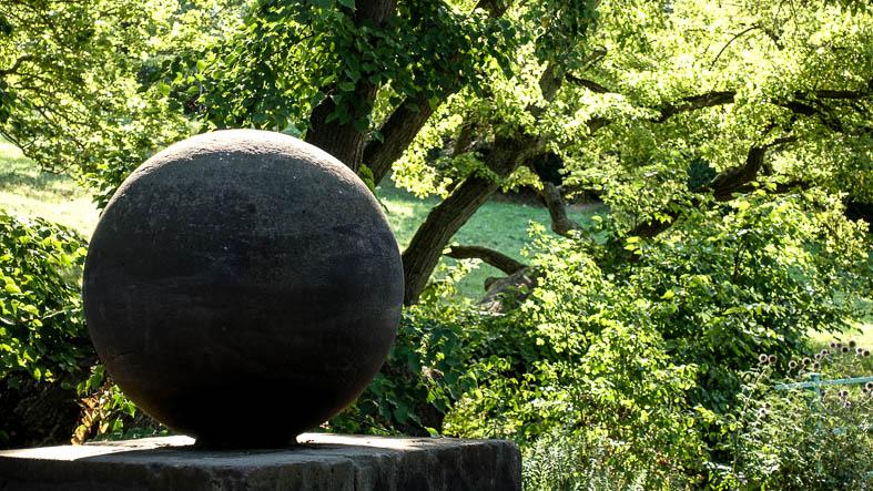 Goethes Gartenhaus, Stein des Glücks