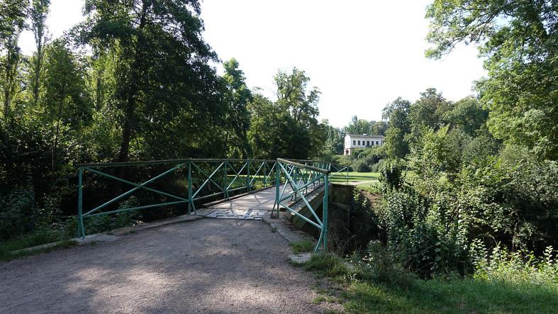 Goethes Gartenhaus, Brücke