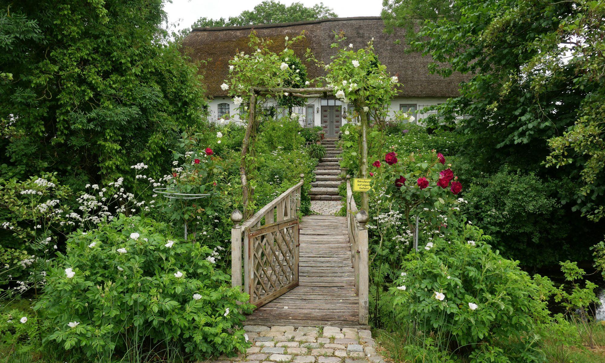 Garten auf Eiderstedt